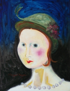 Soutine's Wife, Oil on wood panel