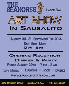 Sausalito SeaHorse Art Show